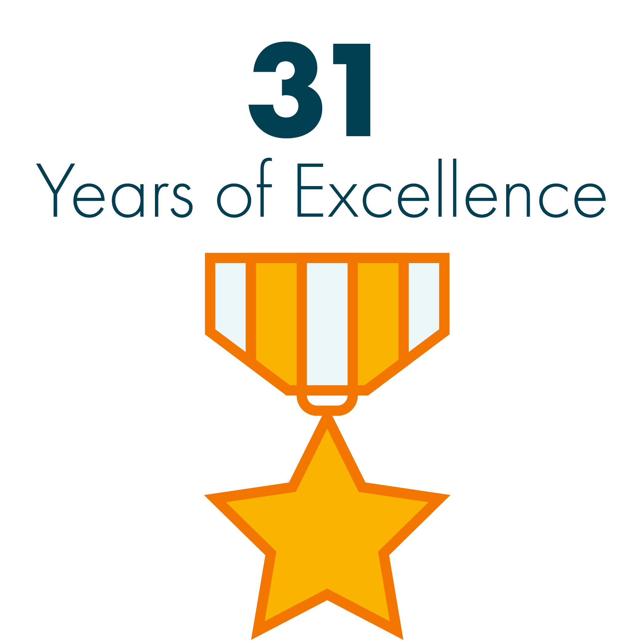 31 Years of Excellence